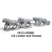 US Limber and Horses