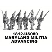 Maryland Militia Advancing
