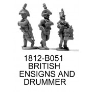 British Ensigns and Drummer, Bicorne