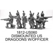 US Light Dragoons Dismounted With Command