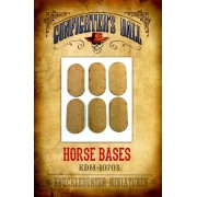 MDF Horse Bases