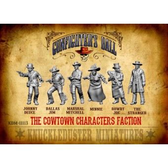 Cowtown Characters Faction