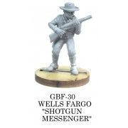 "Wells Fargo ""Shotgun Messenger"""
