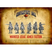 Mounted Jesse James Faction