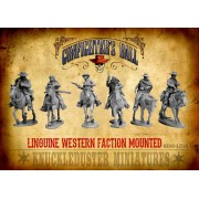 Mounted Linguine Western Faction