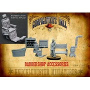 Barbershop Furniture and  Accessories