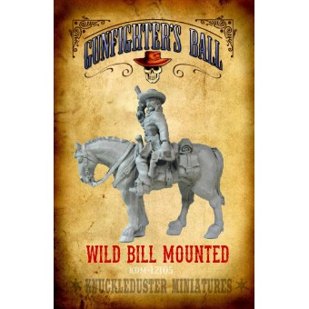 Wild Bill Hickok Mounted