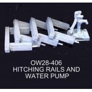Hitching Rails and Pump