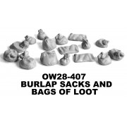 Burlap Sacks and Bags of Loot