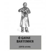O-Gauge Bartender with Rag