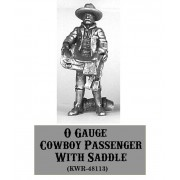 O-Gauge Cowboy Passenger with Saddle