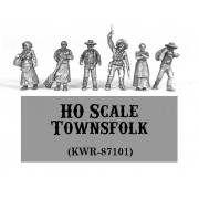 HO Scale Townsfolk