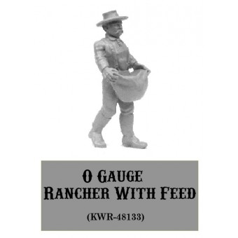 O-Gauge Rancher With Feed