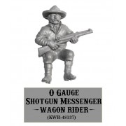 O-Gauge Shotgun Messenger Wagon Rider