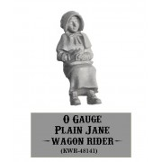 "O-Gauge Wagon Rider, ""Plain Jane"""