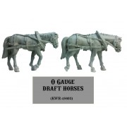 O Gauge Draft Horses (2)