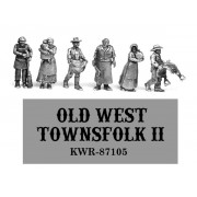 HO Scale Old West Townsfolk II