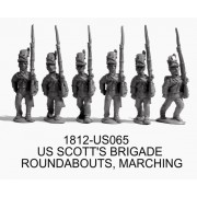 Scott's Brigade, March-Attack, Roundabouts