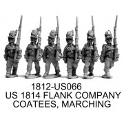 US FLANK COMPANY, 1814 COATEES, MARCHING