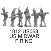 US MIDWAR INFANTRY FIRING