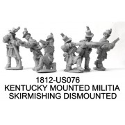 Kentucky Mounted Militia, Dismounted