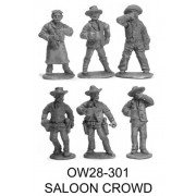 Saloon Crowd