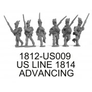 US LINE 1814 ADVANCING