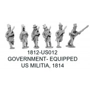 US Militia Advancing, Government Equipment