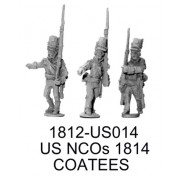 US NCOs 1814 Coatees, Old Design