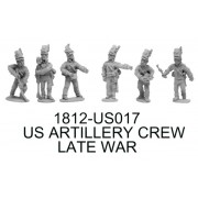 US Artillery Crew, Late-War