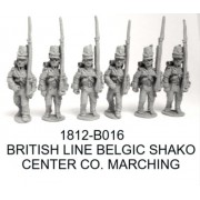 BRITISH/CANADIAN LINE CENTER COMPANY BELGIC SHAKO
