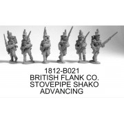 FLANK CO. ADVANCING, STOVEPIPE SHAKO