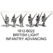 BRITISH LIGHT INFANTRY ADVANCING
