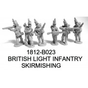 BRITISH LIGHT INFANTRY SKIRMISHING