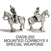 MOUNTED COWBOYS II; SPECIAL WEAPONS