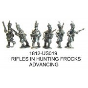 US RIFLES IN HUNTING FROCKS ADV.