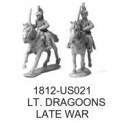 US LIGHT DRAGOONS, LATE WAR