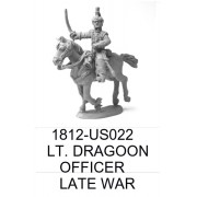 US LIGHT DRAGOON OFFICER, LATE WAR