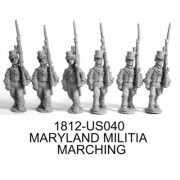 Maryland Militia Marching