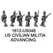 US CIVILIAN MILITIA ADVANCING
