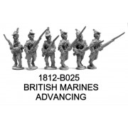 British Marines Advancing