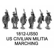 US CIVILIAN MILITIA MARCHING