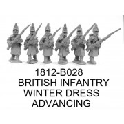 BRIT. INF. ADVANCING, WINTER