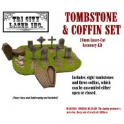 Tombstone and Coffin Kit