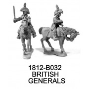 BRITISH GENERALS, BROCK AND PREVOST