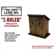 2-Holer Outhouse