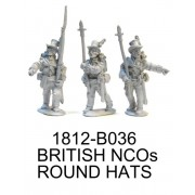 BRITISH/CANDIAN NCOs IN ROUND HATS