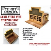Small Store, Stepped-Front Roof