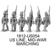 US Line Mid-War, Marching