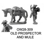 OLD PROSPECTOR AND MULE